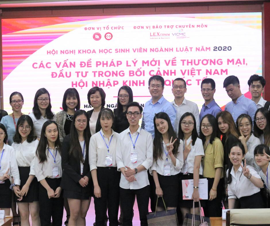 Hội nghị khoa học sinh viên ngành luật năm 2020