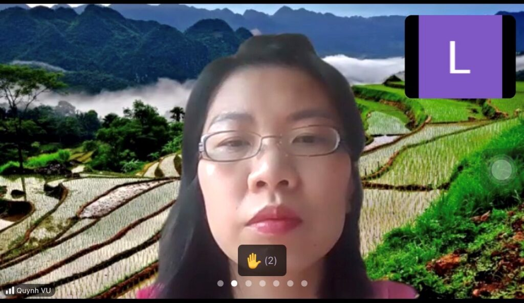 """Mediator Vu Thi Chau Quynh in the internal discussion """"Renewable Energy Project Disputes"""""""